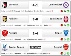 #Valuebets of the day 28.12.2017 - #PremierLeague, ITALY: #SerieB, #TurkishCup  ➡ www.ukbettips.co.uk/todays-bet-tips Crystal Palace, Sports Betting, Premier League, Insight, Italy, Tips, Italia, Counseling