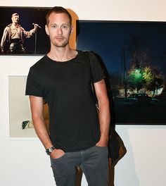 The Alexander Skarsgard Library — New photos of Alex from today (May 1, 2017) in NYC...