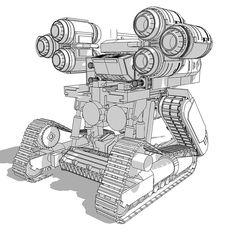 Sketchup kitbash vehicle.   #mech #robot #cyber #steampunk #vehicle #machine #zbrush #3dstudiomax #vray #hardsurface #model #sculpt #sculpture #sketchup #art #painting #sketch #anime #manga #entertaiment #design #conceptual  #instart #scifi #paint #artsy #illustration