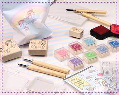 Hinterlasse mit diesen Stempeln magische & himmlische Spuren… Notebook, Stamping Up, Unicorn, World, Creative, Do Crafts, The Notebook, Exercise Book, Scrapbooking