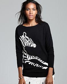 Zebra Cashmere Sweater