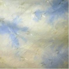 Cloudy looking fabric.