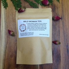 Wild Woman Tea by BlossomAndMoss on Etsy