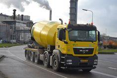 MAN cement mixer Heavy Construction Equipment, Construction Machines, Types Of Concrete, Mixer Truck, Concrete Mixers, Semi Trucks, Vehicles, Pumps, Cars