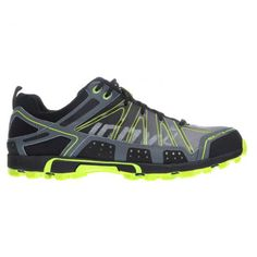 Inov-8 Roclite 295 Trail Running Shoes - Men's-Grey Lime-M: US8 - Grey Lime