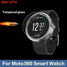 b146d627bbf Für Motorola Moto 360 Smartwatch Nacodex Ultra Clear Displayschutz schutz  vor Pelicula Protetora transparente film