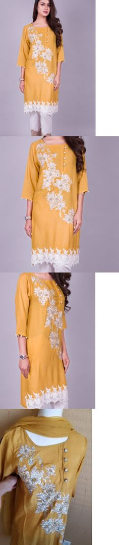 Kurta 155248: Kross Kulture Kurta Pakistani Designers Maria B Aghanoor Sana Safinaz Baroque -> BUY IT NOW ONLY: $79.99 on eBay!