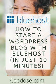 Make Money Blogging, Way To Make Money, Blogging Ideas, Earn Money, Make Blog, How To Start A Blog, Entrepreneur, Hosting Company, Blogging For Beginners