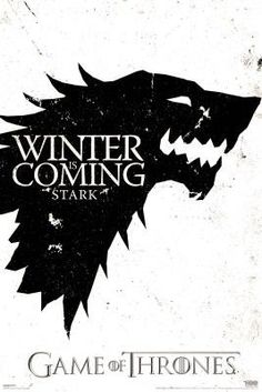 Game of Thrones Stark Sigil Wall Poster