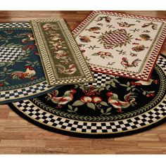 hand-knotted rose aubusson wool rug (3' x 5' oval)surya | wool rug
