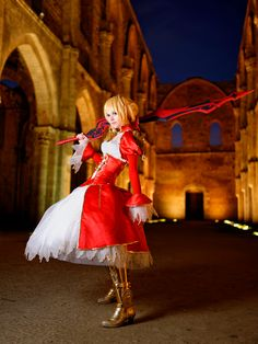 Saber Nero 2nd shot by Sandman-AC.deviantart.com on @DeviantArt