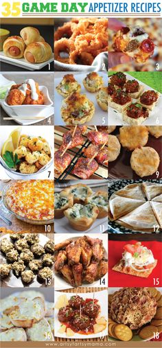 Appetizer Recipes for a Crowd RECIPES | ... Appetizer Recipes at artsyfartsymama.com #appetizer #recipes #