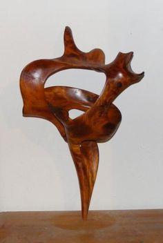 Sculpture en pin