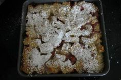 Strawberry cream cheese stuffed french toast casserole