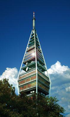 Kazmzik tv tower Bratislava, Slovakia