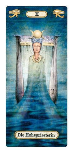 Tarot Card The High Priestess - Reinhard Schmid's Tarot