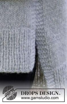Drops Design, Easy Knitting, Knitting Patterns Free, Knit Patterns, Knit Shrug, Knit Vest, Rug Loom, Pull Court, Magazine Drops
