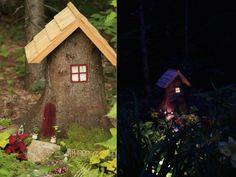 Hometalk   Tree Stump to Fairy