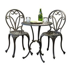 Seville Mosaic Bistro Table And 2 Chairs Garden Set   Home Decor    Pinterest   Bistro Set, Bistro Tables And Chairs
