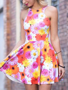 Peace and Love Reversible Skater Dress (WW 48HR $85AUD / US - LIMITED $68USD) by Black Milk Clothing