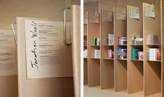 RIBA pop-up book shop | Campaign Design (Cardboard that was recycled afterwards!)