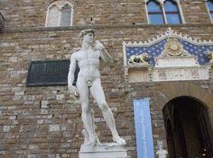 A replica of Michelangelo's masterpiece