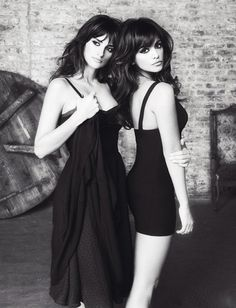 Penelope & Monica Cruz. Or it could be @monicacedeno and Maria Cedeno