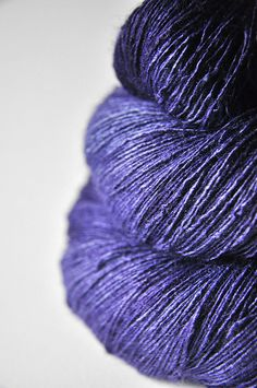 Tussah Silk Lace Weight... I want to touch it.