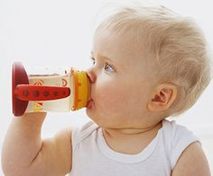 Windows of Opportunity: Guidelines for Tricky Childhood Transitions: Use a Sippy Cup (via Parents.com)