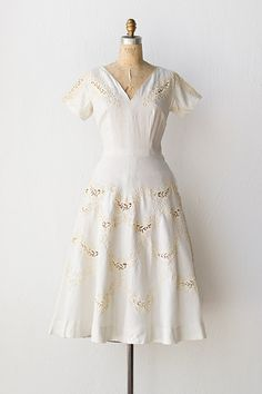 vintage 1950s dress | 50s dress | Lace and Sonnets dress