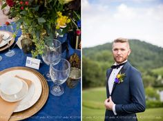 DelFosse Vineyards & Winery Styled Shoot - Charlottesville Wedding Photographer LIMEFISH STUDIO | Groom Attire | Calligraphy By Kalika