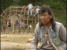 """""""Horizontes Indígenas. Pueblo Kikapú. La casa de invierno. El Nacimiento, Coahuila"""" English: Indian Horizons. Kickapoo people. """"The winter home."""" El Nacimiento, Coahuila, Mexico."""