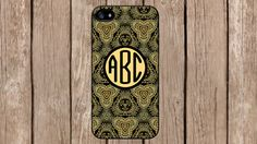 Personalized Monogram Ornamental Ethnic Pattern for iPhone 4/4s/5/5s/5c Samsung Galaxy S3/S4/S5/Note 2/Note 3 by TopCraftCase, $6.99