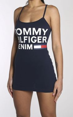 TOMMY HILFIGER - Frankie Collective Tommy Hilfiger Outfit, Vintage Shops, Tankini, Atlanta Falcons, Fashion Outfits, Swimwear, Shopping, Collection, Dresses