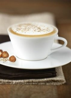 Hazelnut Cappuccino | Wrapped in a smooth milk foam, every Grand Cru takes on the subtle aromas of hazelnut.