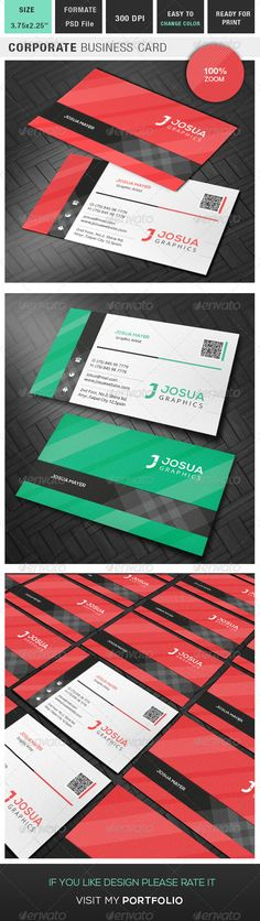 Corporate Business Card Template PSD | Buy and Download: http://graphicriver.net/item/corporate-business-card/8654909?WT.ac=category_thumb&WT.z_author=Josua_mayer&ref=ksioks