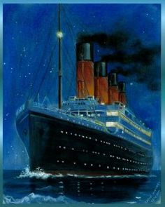 How to Draw the Titanic [click for the steps]