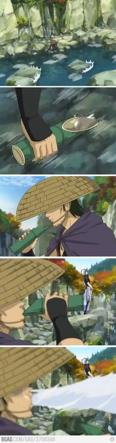 I remember watching this episode of Gintama and I couldn't stop laughing.