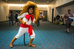 Speedy Gonzales, by Barry V Nintentoys   SDCC 2013 Cosplay. View more EPIC cosplay at http://pinterest.com/SuburbanFandom/cosplay/...