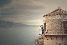 Γαμος στη Μονεμβασια Γιωργος-Ματα Places In Greece, Greek Wedding, Pathways, Entrance, The Past, Castle, Construction, Cabin, House Styles