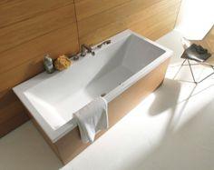Duravit Vero Rectangle Double Ended Bathtub 1700 x 700mm - 700144