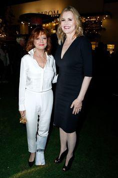 YAY!: 'Thelma & Louise' Stars Susan Sarandon and Geena Davis Reunite — See the Pic!