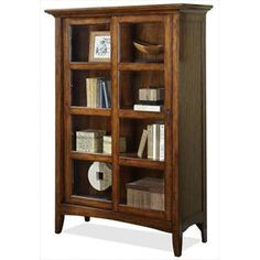 Bookcases buffets cabinets curios for ashley on - Bathroom vanities nebraska furniture mart ...