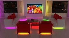 More Stupid Tricks With LEDs, Furniture Department : TreeHugger