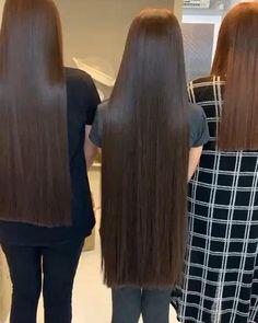 GKhair Keratin Treatment & Rebonding in Dubai Long Silky Hair, Long Hair Cuts, Long Hair Styles, Rebonded Hair, Hair Smoothening, Hair Protein, Rapunzel Hair, Beautiful Long Hair, Hair Videos
