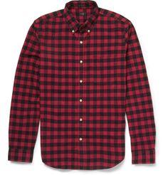 J.Crew checked cotton shirt - $80