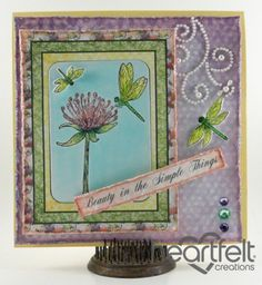 Heartfelt Creations | Simple Things Dragonfly