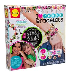Kids' Jewelry Making Kits - ALEX Toys DIY Wear I Heart Charm Bracelets * Continue to the product at the image link.
