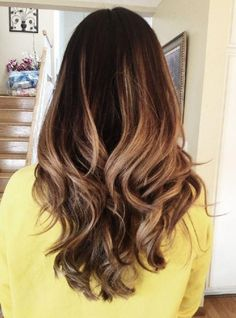 We know what ombre is but we've only recently heard balayage. Here are differences between ombre and balayage and which is best for you. Dark Ombre Hair, Best Ombre Hair, Ombre Hair Color, Dark Hair, Hair Colors, Brown Hair, Subtle Ombre, Brunette Ombre, Light Ombre