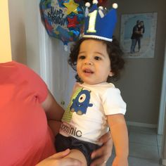 Outfit (crown by Mommy) -- Little Monster's